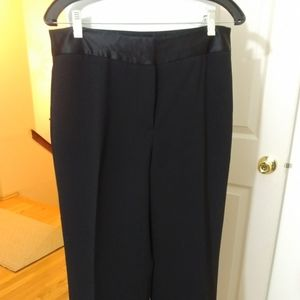 Evening poly crepe pant